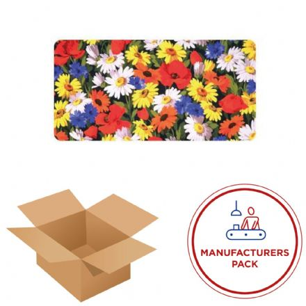 15cm x 30cm Rectangle - Textile Wall Art Kit - Manufacturing pack - 50 units